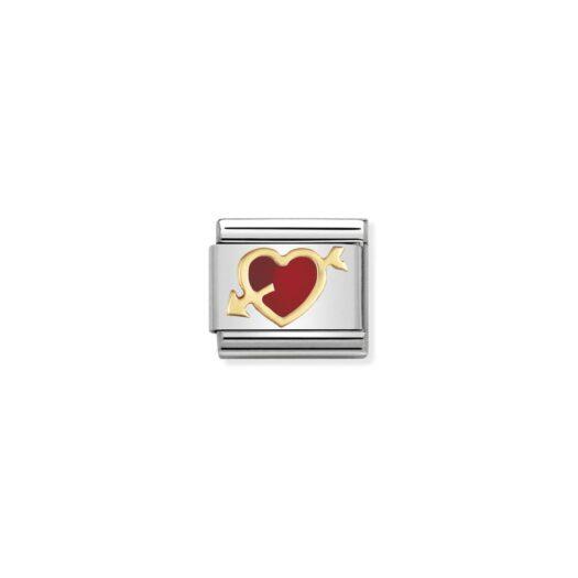 Charm Nomination in Acciaio e Oro - Composable - 030207/12