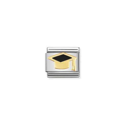 Charm Nomination in Acciaio e Oro - Composable - 030223/08