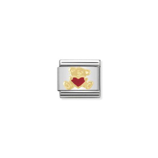 Charm Nomination in Acciaio e Oro - Composable - 030253/32