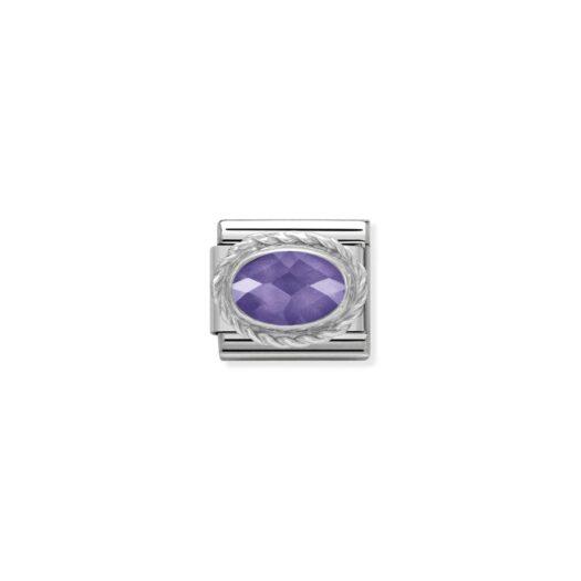 Charm Nomination in Acciaio e Argento - Composable - 330604/001
