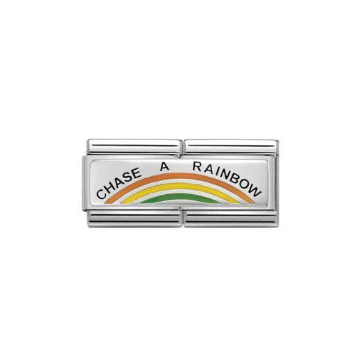 Charm Nomination in Acciaio e Argento - Composable - 330721/02