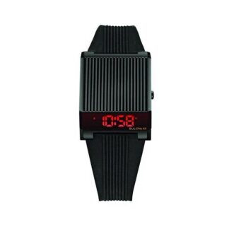 Orologio Digitale Bulova in Acciaio e Silicone - Computron - 98C135
