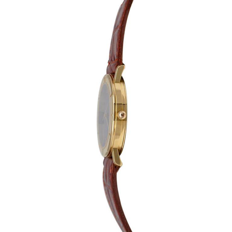 Orologio Solo Tempo Laurens in Oro Giallo e Pelle - 018119CT