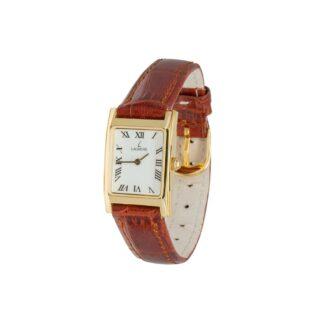 Orologio Solo Tempo Laurens in Oro Giallo e Pelle - 022094AL