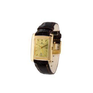 Orologio Solo Tempo Lorenz Oro Giallo e Pelle – 023053BC