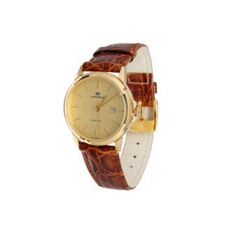Orologio Automatico Lorenz in Oro Giallo e Pelle – 024346CC