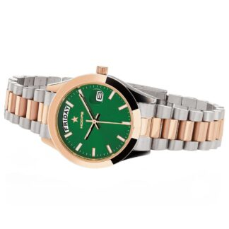 Orologio Solo Tempo Hoops in Acciaio Bicolore - Luxury Day Date S&G - 2620LSRG06