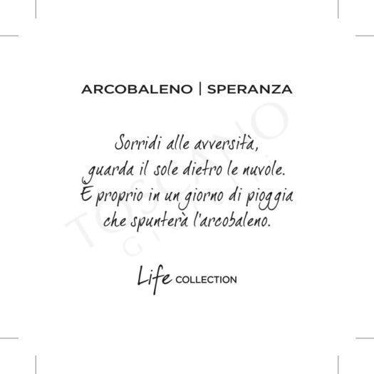 Bracciale Kidult in Acciaio Arcobaleno  Speranza - Symbols - 731624