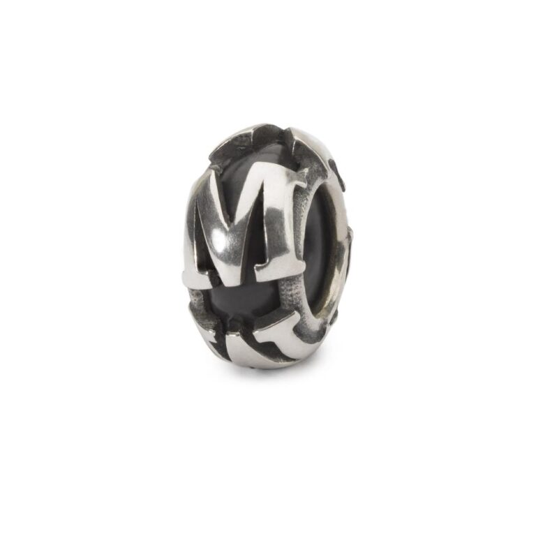 Beads Trollbeads in Argento - Stop Lettera M - TAGBE-10222