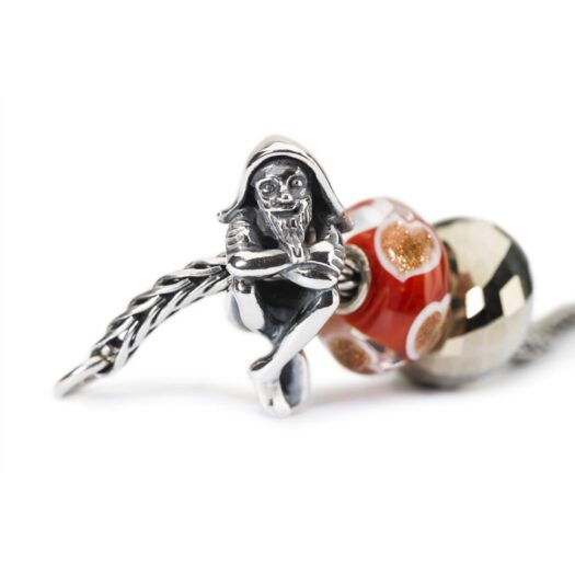 Beads Trollbeads in Argento - Folletto di Babbo Natale - TAGBE-40116