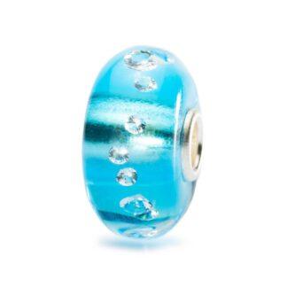 Beads Trollbeads in Argento e Vetro - Diamante di Ghiaccio - TGLBE-00040