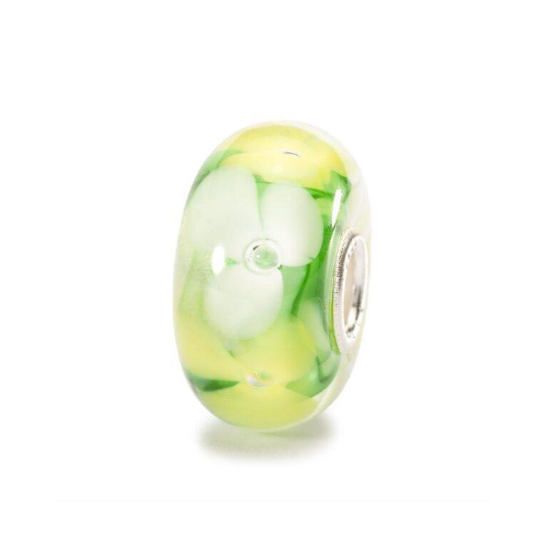 Beads Trollbeads in Argento e Vetro - Anemoni - TGLBE-10087