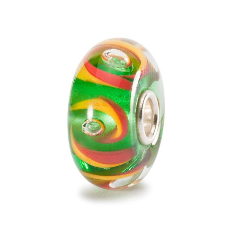 Beads Trollbeads in Argento e Vetro - Colori Lituani - TGLBE-10103
