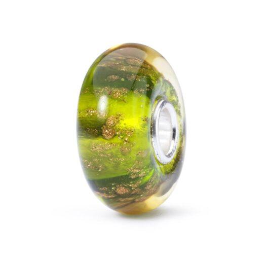 Beads Trollbeads in Argento e Vetro - Richiamo della Foresta - TGLBE-10413