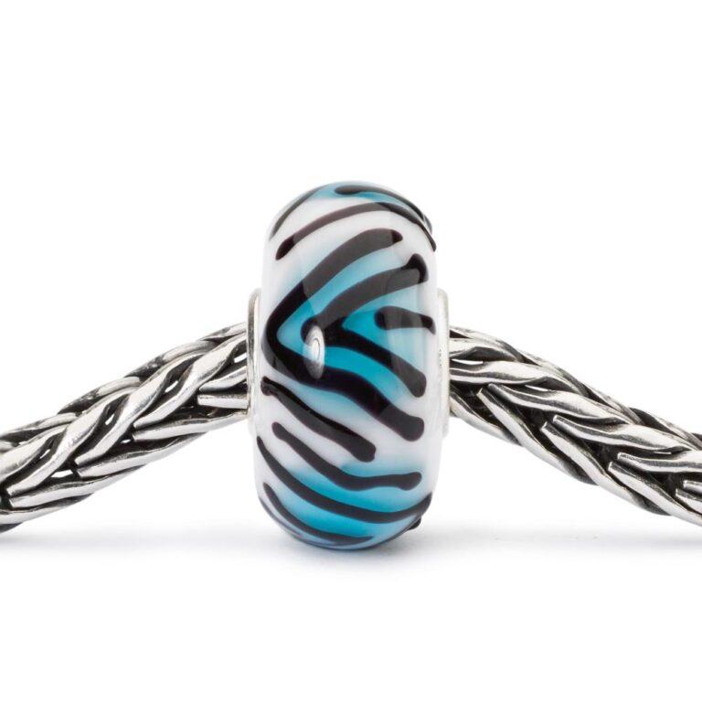 Beads Trollbeads in Argento e Vetro - Tigre Topazio - TGLBE-10423