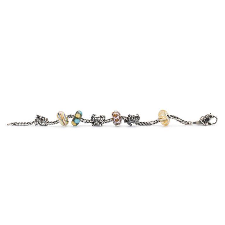 Beads Trollbeads in Argento e Vetro - Abbraccio del Vento - TGLBE-10436