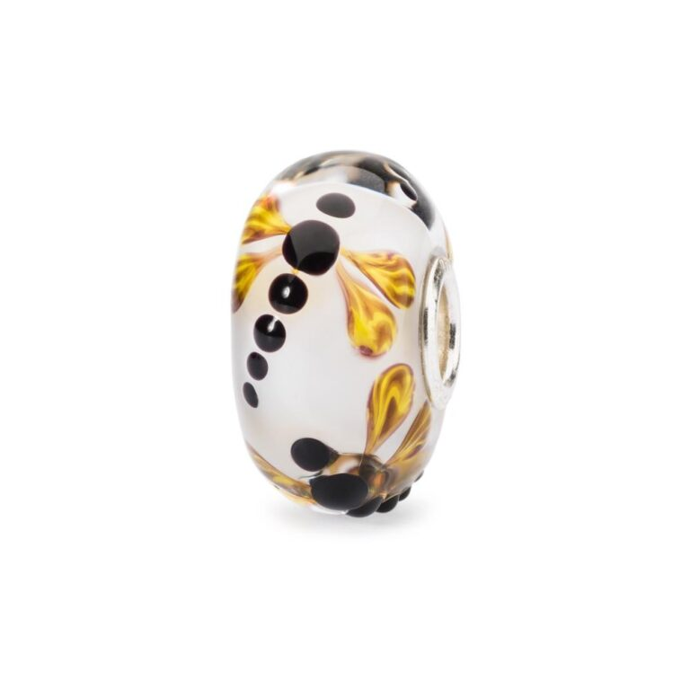 Beads Trollbeads in Argento e Vetro - Volo di Libellula - TGLBE-10438