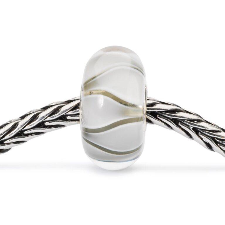 Beads Trollbeads in Argento e Vetro - Tulipani Bianchi - TGLBE-10440