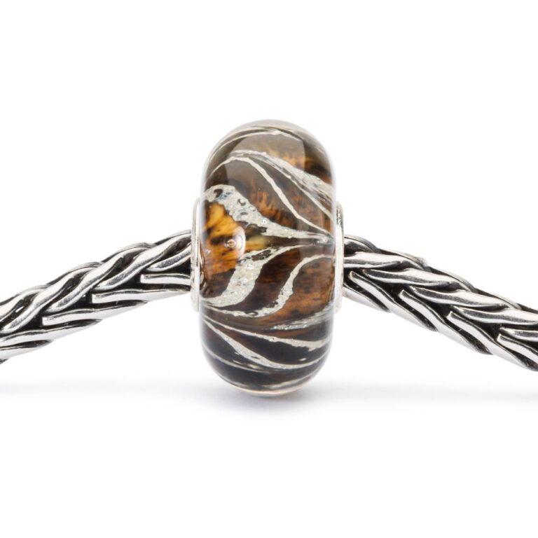 Beads Trollbeads in Argento e Vetro - Radici della Terra - TGLBE-10442