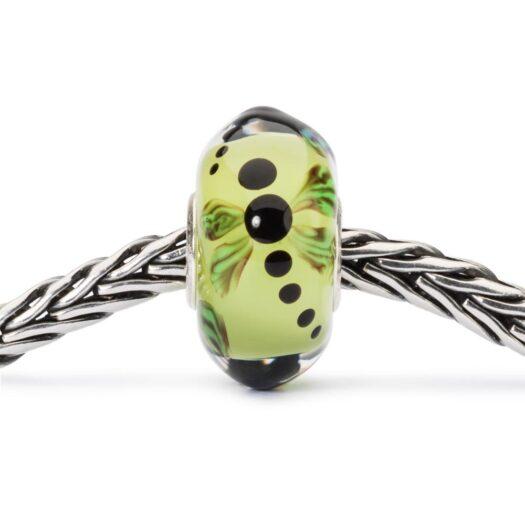 Beads Trollbeads in Argento e Vetro - Libellula di Luce - TGLBE-10447