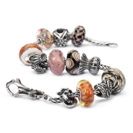 Beads Trollbeads in Argento e Vetro - Voce del Vento - TGLBE-30024