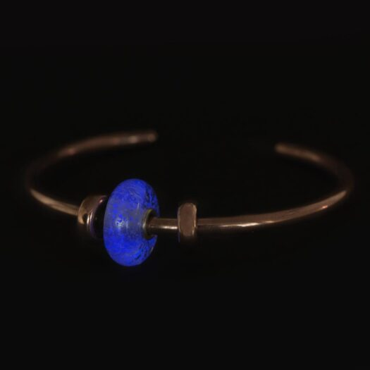 Beads Trollbeads in Argento e Vetro - Manto di Luce - TGLBE-30028