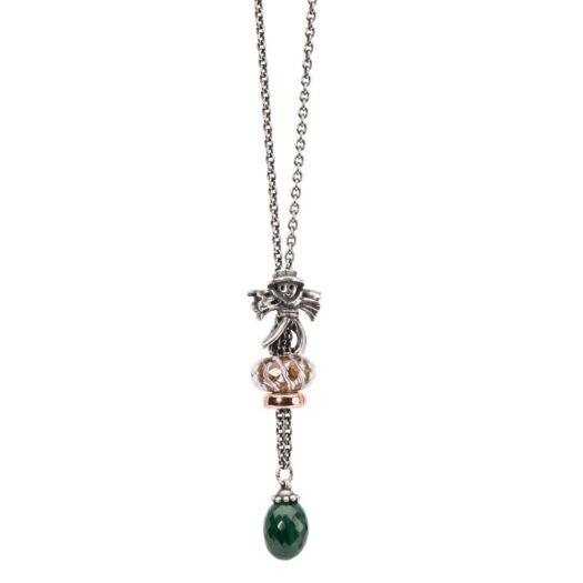 Beads Trollbeads in Argento e Vetro - Isola Deserta - TGLBE-30030
