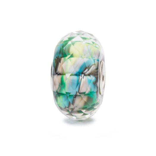 Beads Trollbeads in Argento e Vetro - Silenzio della Natura - TGLBE-30031