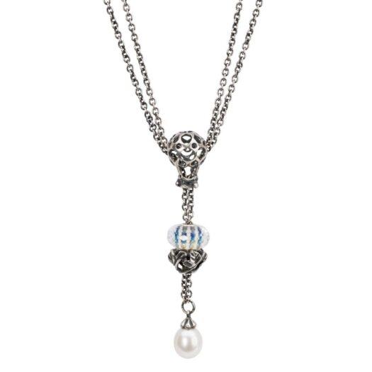Beads Trollbeads in Argento e Vetro - Cielo Infinito - TGLBE-30032
