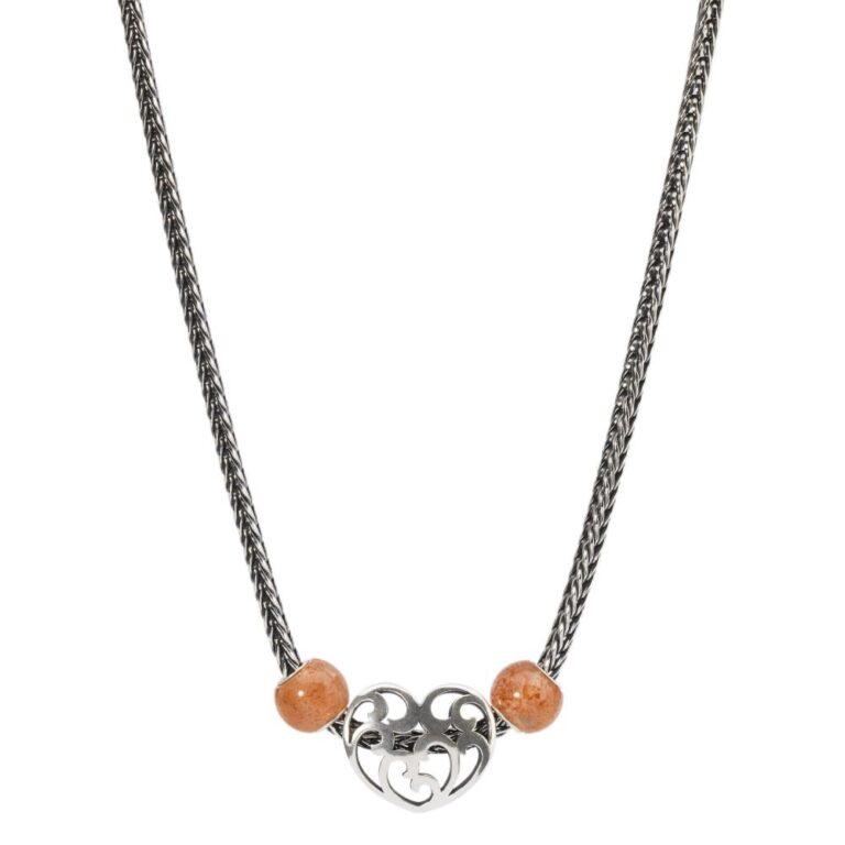 Beads Trollbeads in Argento e Pietra del Sole - Pietra di Sole Rotonda - TSTBE-00026