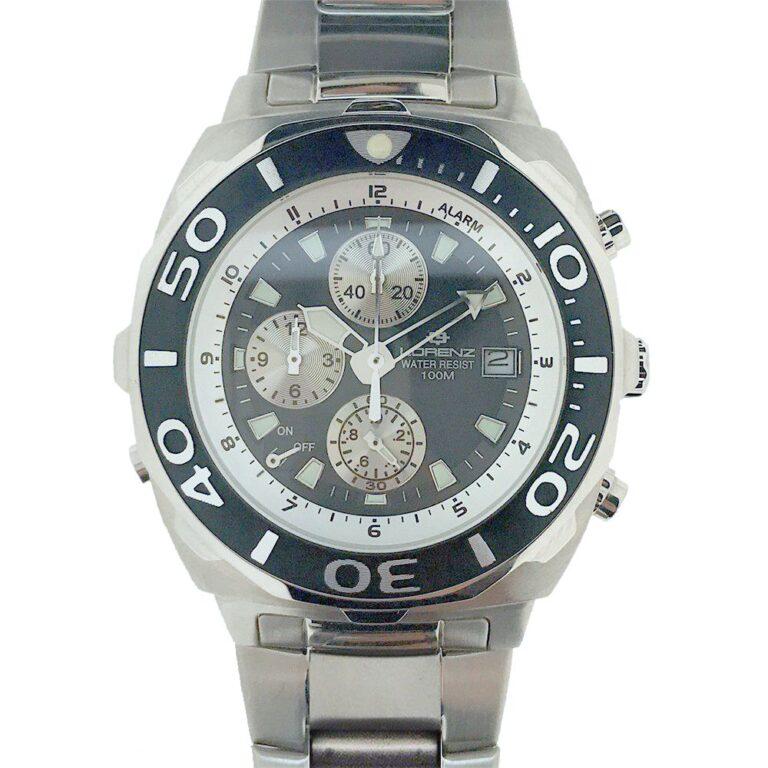 Orologio Uomo Lorenz Cronografo in Acciaio – 026658BB