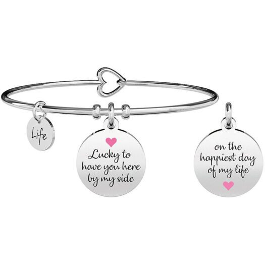 Bracciale Kidult in Acciaio  Damigella D'Onore – Special Moments – 731698