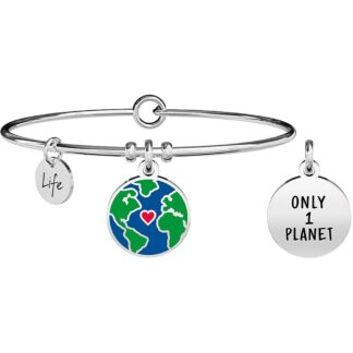 Bracciale Kidult in Acciaio  ONLY 1 PLANET – Nature – 731701