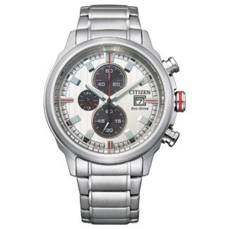Orologio Eco Drive Cronografo Citizen in Acciaio - Crono Sport - CA0738-83A
