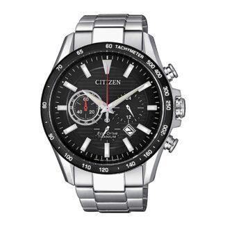 Orologio Eco Drive Cronografo Citizen in Super Titanio - Super Titanium - CA4444-82E