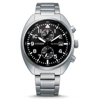 Orologio Eco Drive Cronografo Citizen in Acciaio - Crono - CA7040-85E