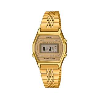 Orologio Cronografo Casio in Acciaio Dorato – Vintage – LA690WEGA-9EF