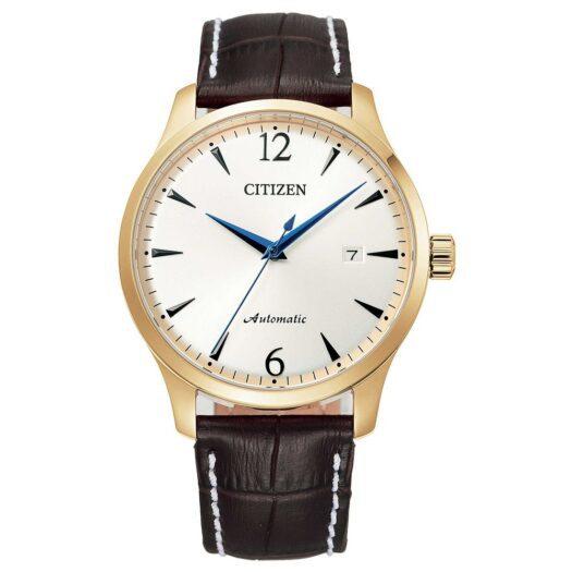 Orologio Automatico Citizen in Acciaio e Pelle - Classic - NJ0118-16A