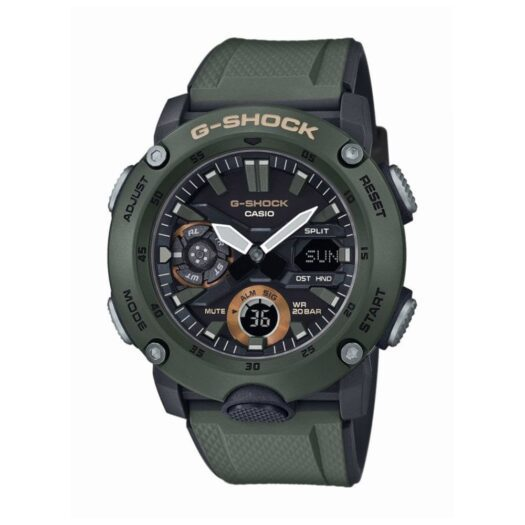 Orologio Cronografo Casio in Resina - G-Shock - GA-2000-3AER