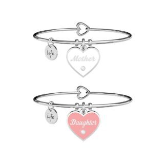 Bracciale Kidult in Acciaio Mother-Daughter  Amore Infinito - Family - 731719