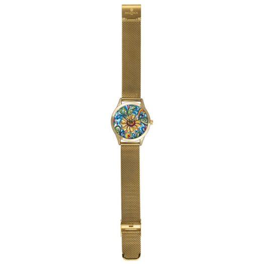 Orologio Solo Tempo Mizzica in Acciaio - Il Girasole - MC107