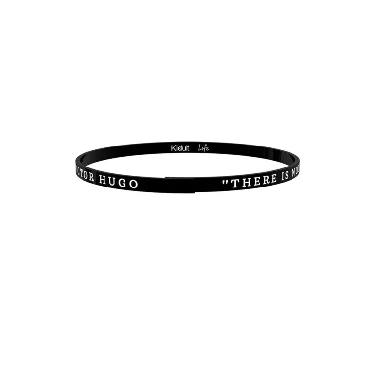Bracciale Kidult in Acciaio There Is Nothing..  V.Hugo - Philosophy - 731726