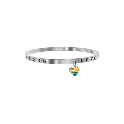 Bracciale Kidult in Acciaio Love Is Never Wrong - Love - 731739