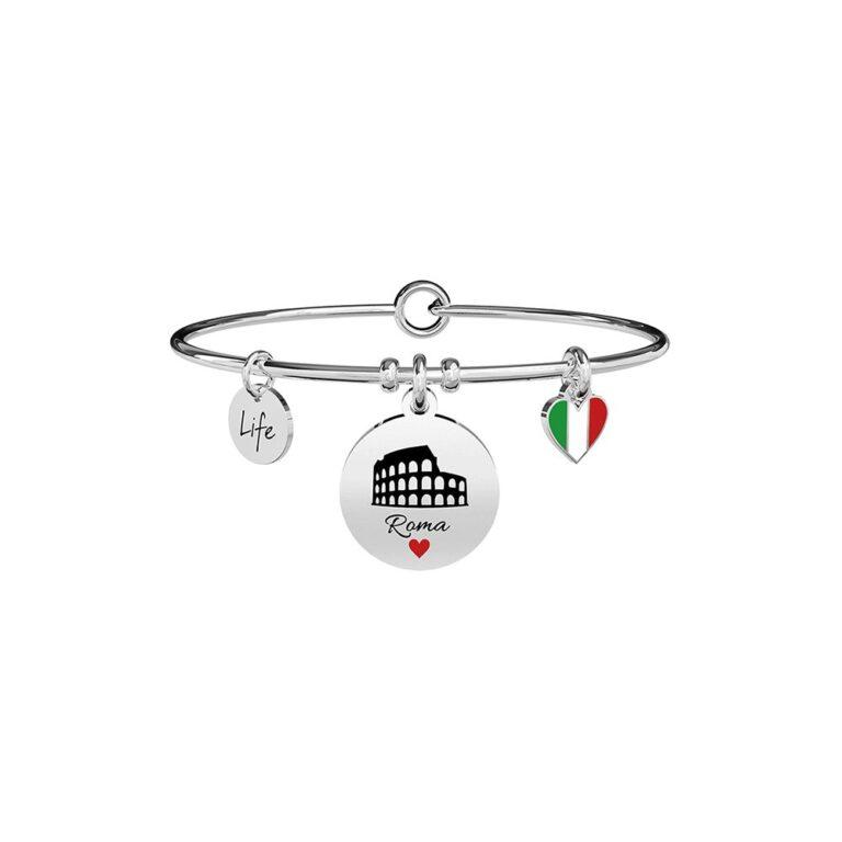 Bracciale Kidult in Acciaio Italia  Roma - Free Time - 731764