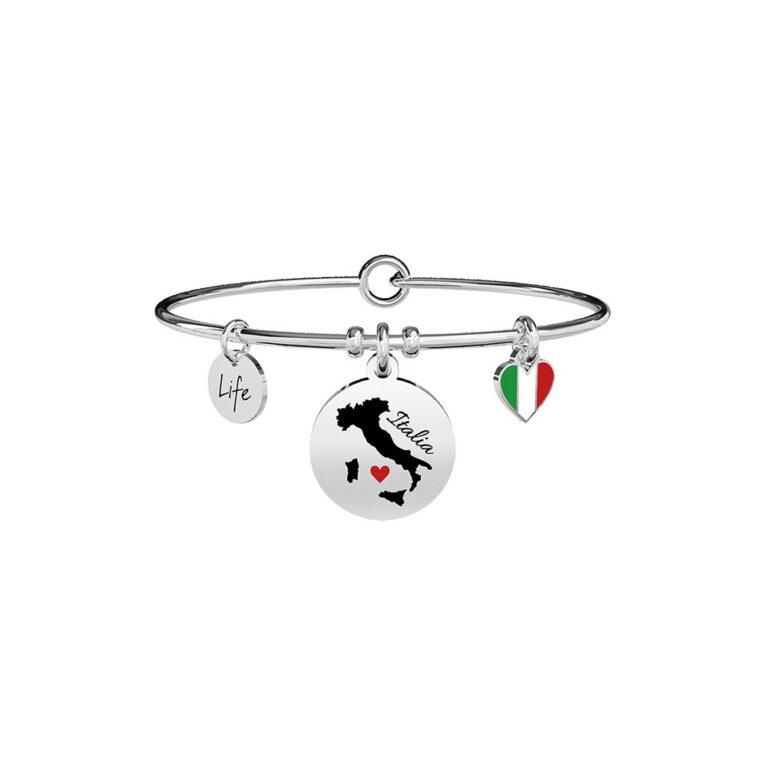 Bracciale Kidult in Acciaio Cuore  Italia - Free Time - 731769