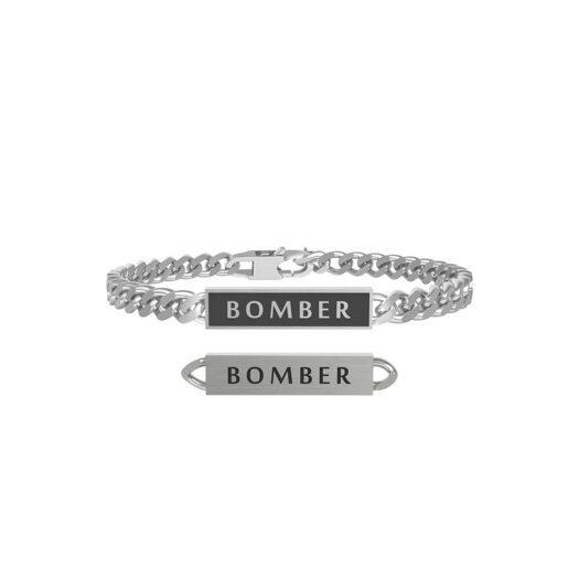 Bracciale Kidult in Acciaio Bomber - Free Time - 731801