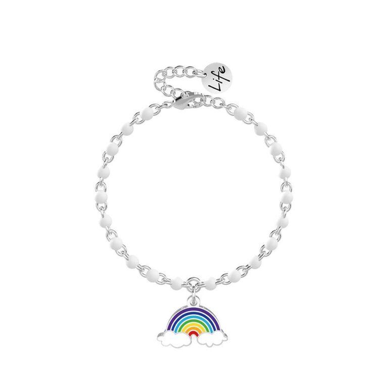 Bracciale Kidult in Acciaio Arcobaleno  Speranza – Symbols – 731844