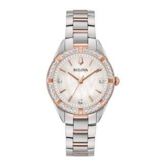 Orologio da Donna Bulova in Acciaio e Diamanti - Sutton - 98R281