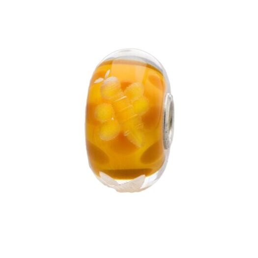 Beads Trollbeads in Argento e Vetro - Millefiori - TGLBE-30050