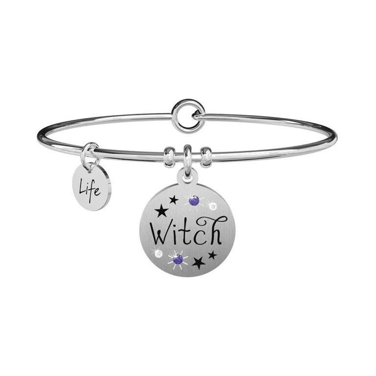 Bracciale Kidult in Acciaio  Witch - Symbols - 731867